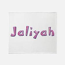 Jaliyah Pink Giraffe Throw Blanket