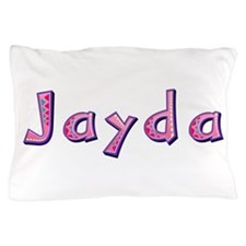 Jayda Pink Giraffe Pillow Case