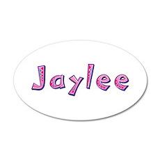 Jaylee Pink Giraffe Wall Decal