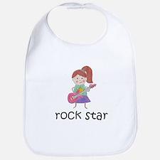 Girl Rock Star Bib