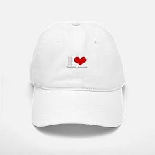 i love (heart) turkish accent Baseball Baseball Cap