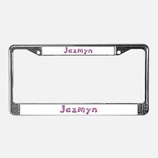 Jazmyn Pink Giraffe License Plate Frame