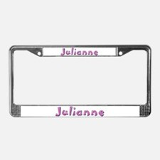 Julianne Pink Giraffe License Plate Frame