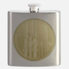 Commerative Coin ESA Logo Flask