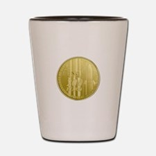 Commerative Coin ESA Logo Shot Glass