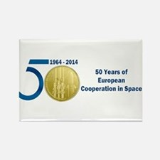 Commerative Coin ESA Rectangle Magnet