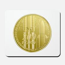 Commerative Coin ESA Logo Mousepad