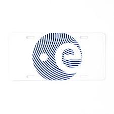 ESA 50th Anniversary Aluminum License Plate