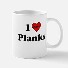I Heart (hate) Planks Mugs