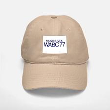 WABC New York (1970) - Baseball Baseball Cap