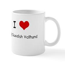 I LOVE MY SWEDISH VALLHUND Mugs