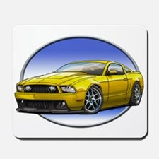 GT Stang Yellow Mousepad