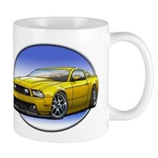 GT Stang Yellow Mugs