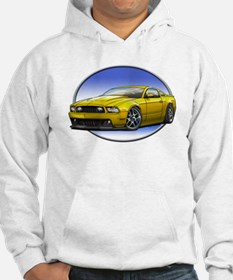 GT Stang Yellow Hoodie