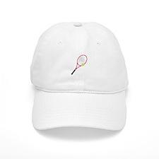 Tennis Racket Baseball Cap