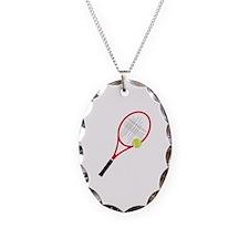 Tennis Racket Necklace