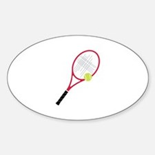 Tennis Racket Decal