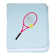 Tennis Racket baby blanket