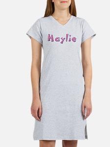 Haylie Pink Giraffe Women's Nightshirt