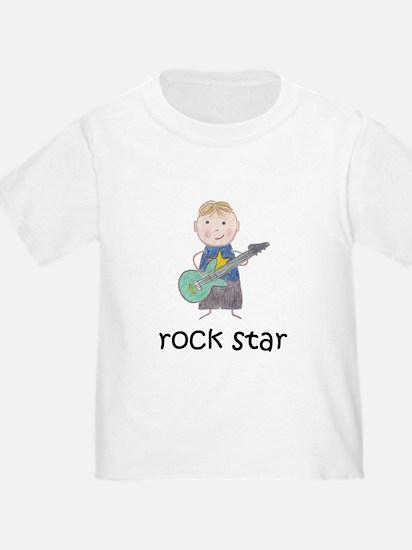 Boy Rock Star T