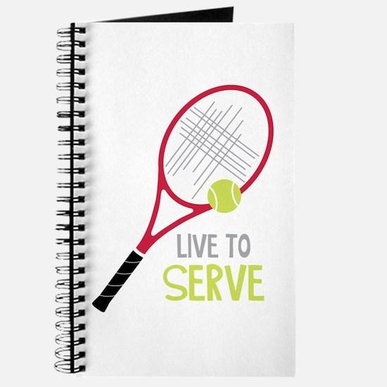 Live To Serve Journal