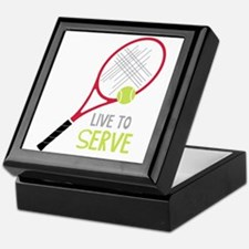 Live To Serve Keepsake Box