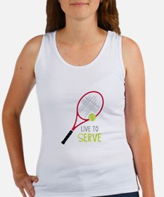 Live To Serve Tank Top