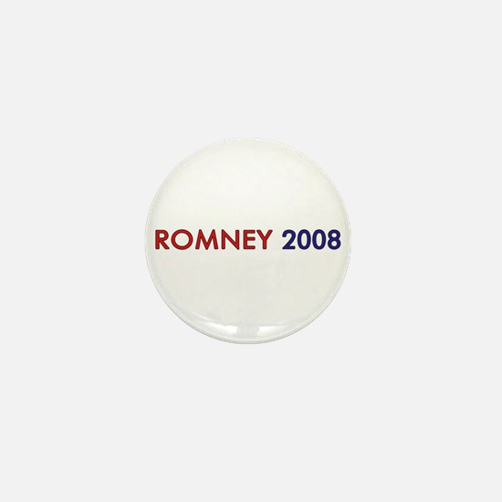Mitt Romney 2008 Mini Button