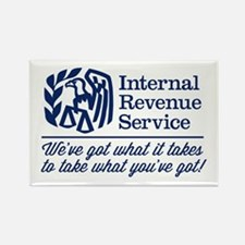 The Irs Rectangle Magnet