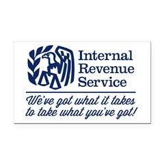 The Irs Rectangle Rectangle Car Magnet