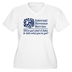 The IRS Plus Size T-Shirt