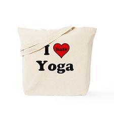 I Heart (hate) Yoga Tote Bag