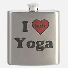 I Heart (hate) Yoga Flask