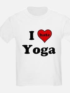 I Heart (hate) Yoga T-Shirt