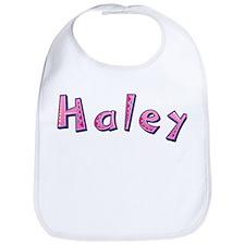 Haley Pink Giraffe Bib
