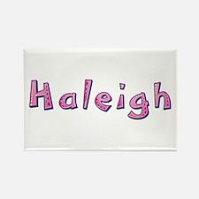 Haleigh Pink Giraffe Rectangle Magnet