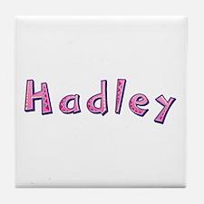 Hadley Pink Giraffe Tile Coaster