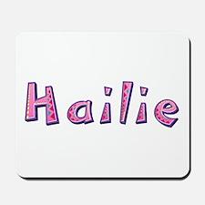 Hailie Pink Giraffe Mousepad