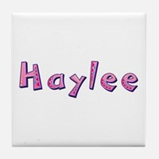 Haylee Pink Giraffe Tile Coaster