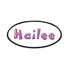 Hailee Pink Giraffe Patch
