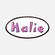 Halie Pink Giraffe Patch