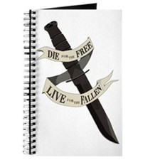 Die for the Free, Live for the Fallen Journal
