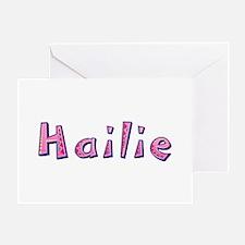 Hailie Pink Giraffe Greeting Card
