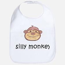 Silly Monkey Bib