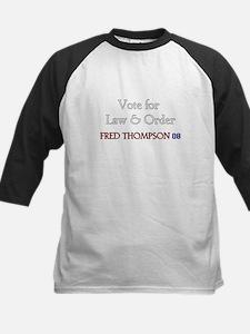 Fred Thompson 2008  Kids Baseball Jersey