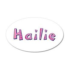 Hailie Pink Giraffe Wall Decal