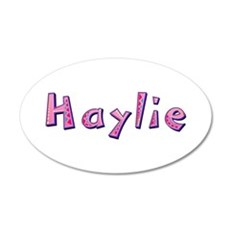Haylie Pink Giraffe Wall Decal
