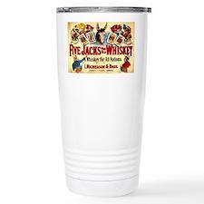 Poker Cards Vintage Whi Travel Coffee Mug