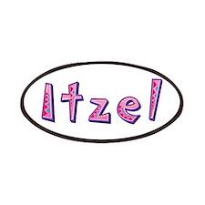 Itzel Pink Giraffe Patch