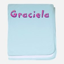 Graciela Pink Giraffe baby blanket